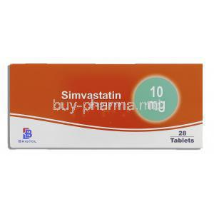 Simvastatin Tablets, Generic  Zocor, Simvastatin 10mg Box