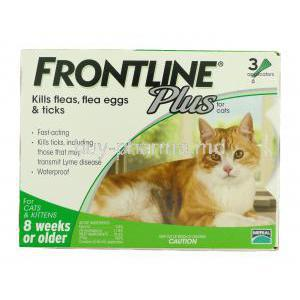 Frontline Plus for Cat (for cats and kitten 8 weeks or older)