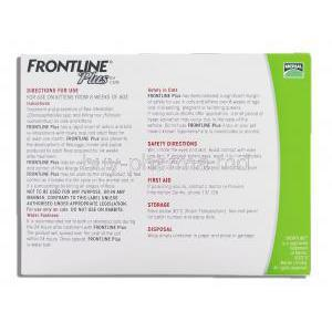 Frontline Plus for Cat 6 Packs 0.5 mg box information