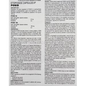 Posid, Etoposide  50 mg information sheet 1
