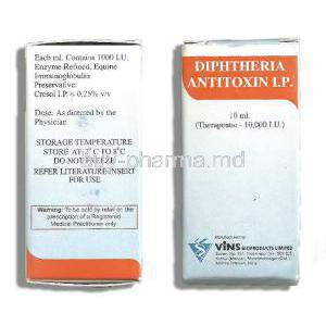 Diphtheria Antitoxin, Vial