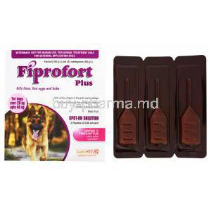 Fiprofort Plus Spot On Solution for Dogs