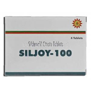 Siljoy-100, Sildenafil Citrate 100mg Box