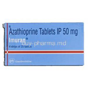 Imuran, Azathioprine, 50mg, Tablet, Box