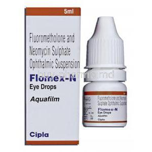 Fluorometholone/ Neomycin sulphate Ophthalmic Suspension