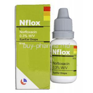 Norfloxacin Eye/ Ear Drops