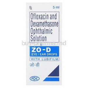 Dexamethasone/ Ofloxacin Ophthalmic Solution Eye Drops