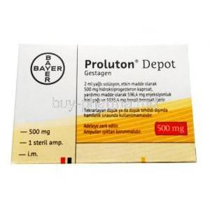 Proluton Depot Injection, Hydroxyprogesterone Caproate