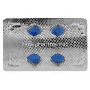 Vega, Sildenafil Citrate 50mg Tablet Strip