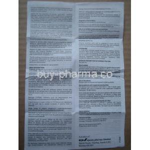 Kamagra Chewable Patient Information Sheet 2