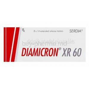 Diamicron Gliclazide box
