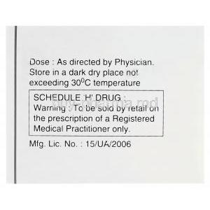 Doxin-25, Generic Sinequan, Doxepin 25mg Box Information