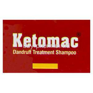 Ketomac Dandruff Treatment Shampoo, Generic Nizoral, Ketoconazole 2% 110ml Box Top
