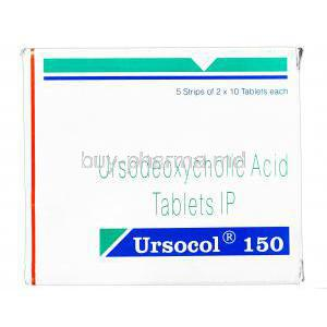Ursocol, Ursodeoxycholic Acid  150mg
