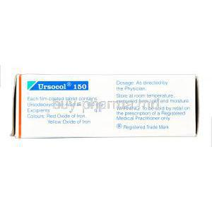 Ursocol, Ursodeoxycholic Acid  150mg box