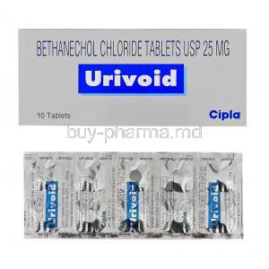 Urotone, Bethanechol 25 Mg Tablet