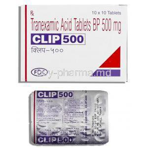 Clip, Tranexamic acid