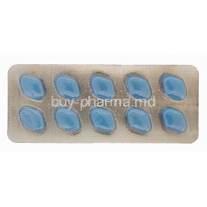 POW! Sildenafil Power Pill 100, Sildenafil 100mg Tablet Strip