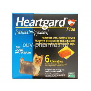 Heartgard Plus Chewable for Dogs