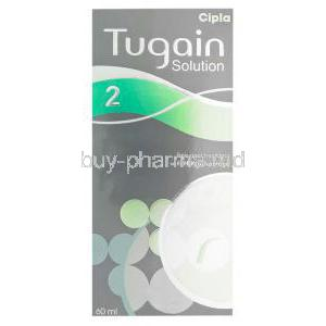 Tugain Solution 2, Minoxidil Topical Solution 2% 60ml Box
