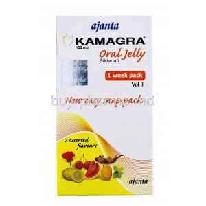 Kamagra Jelly, Sildenafil Citrate
