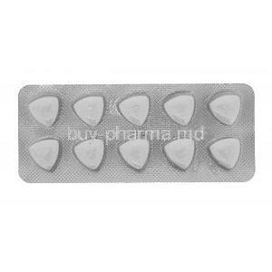 Fildena, Sildenafil Citrate Chewable Tablets 100mg 100tabs, Front blister packaging with pills