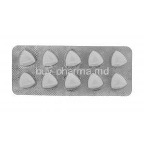 Generic Viagra, Sildenafil Citrate, Fildena 100mg 100tabs, Sublingual tablets professional, blister pack front view