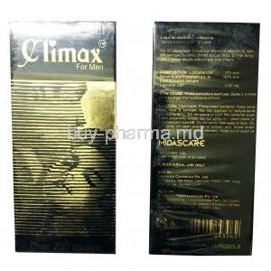 Climax, Lidocaine Spray