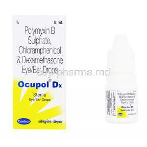 Polymyxin B/ Chloramphenicol/ Dexamethasone Eye/ Ear Drops