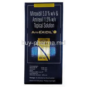 Amexidil Solution, Aminexil/ Minoxidil