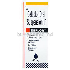Keflor Oral Suspension, Cefaclor