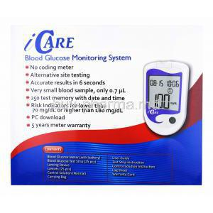 Icare Blood Glucose Meters