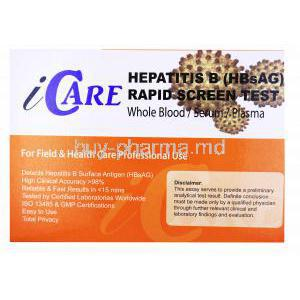iCare Hapatitis B Test Kit