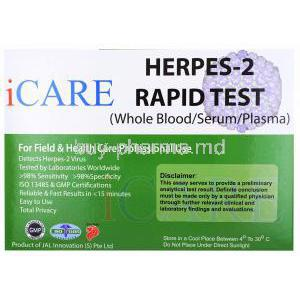 iCare Herpes 2 Test Kit