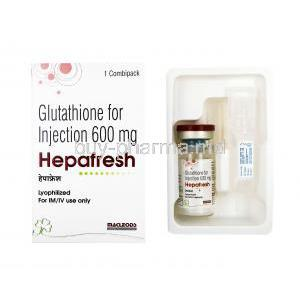Hepafresh Injection, Glutathione
