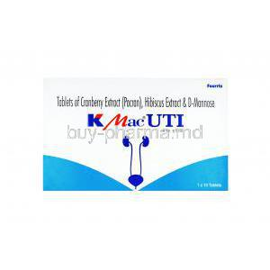 K Mac UTI , Cranberry extract (Pacran)/ D-Mannose/ Hibiscus extract