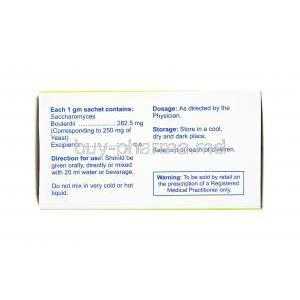 Floratact Sachet, Saccharomyces Boulardii direction for use