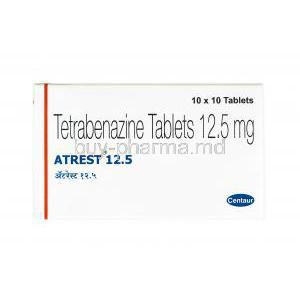 Atrest, Tetrabenazine   Buy Atrest, Tetrabenazine