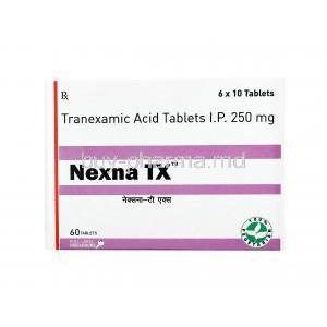 Nexna TX, Tranexamic Acid