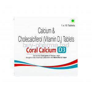 Coral Calcium D3, Calcium and Vitamin D3