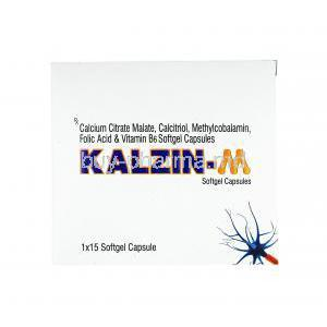 Kalzin M, Calcium/ Calcitriol/ Methylcobalamin/ Folic Acid/ Vitamin B6