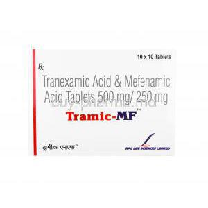 Tramic MF, Tranexamic Acid/ Mefenamic Acid