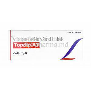 Topdip AT, Amlodipine and Atenolol