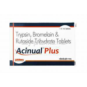 Acinual Plus, Bromelain/ Trypsin/ Rutoside