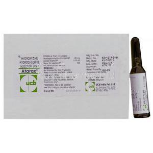 Atarax Hydroxyzine Injection