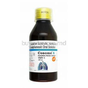 Cosome A Syrup, Ambroxol/ Guaifenesin/ Terbutaline