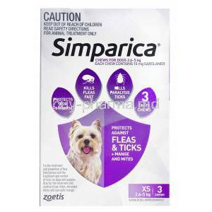 Simparica Chwable for Dogs