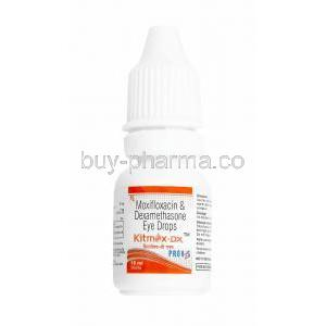 Kitmox-DX Eye Drop, Moxifloxacin/ Dexamethasone