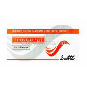 Troycal CT, Calcium Carbonate/ Calcitriol/ Zinc