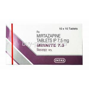 Mirnite, Mirtazapine